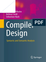 Wilhelm, Seidl, Hack - Compiler Design. Syntactic and Semantic Analysis