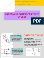 Chap 2 - Vapor and Combined Power Cycles