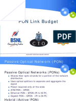 2-2-PON link budget