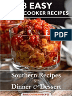 8 Easy Slow Cooker Recipes Southern Recipes for Dinner and Dessert Free eBook (1)