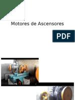 Motores de Ascensores