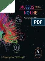 Programación Museos en la Noche 2016