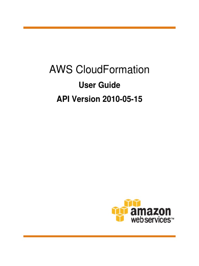 Cloudformation Ug | Amazon Web Services | Command Line Interface