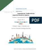 Segmentación, Clasificación de Segmentos Basada en Los Ingresos.