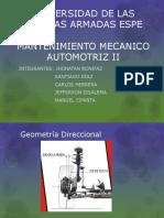 Exposicion Geometria de La Dirección
