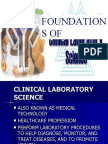 Foundation of Cls