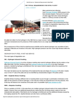 Wet H2S Service - What Are the Requirements for Steel Plate