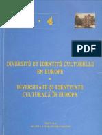 Diversité et Identité Culturelle en Europe (DICE) 4 (ABSTRACTS)