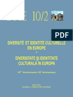 Diversité et Identité Culturelle en Europe (DICE) 10.2 (ABSTRACTS)