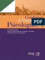 Cuaderno de Postgrado Psicologia Clinica UV