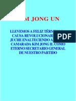 Kim Jong Un-Sobre Kim Jong Il