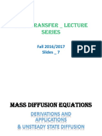 7. Lectures_ Mass Transfer