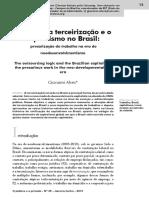 A Lógica Da Terceirização - Giovanni Alves