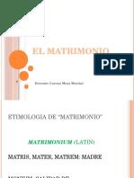 5 El Matrimonio