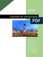 Comisión de reservación