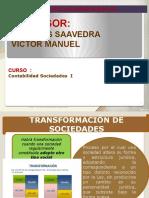 TRANSFORMACIÓN   DE   SOCIEDADES