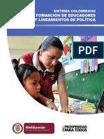 Sistema Colombiano de Formacion de Educadores