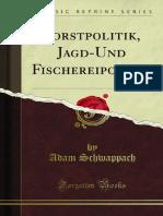 Forstpolitik Jagd-Und Fischereipolitik 1100029856