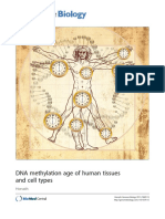 ---- DNA Methylation Age of Human Tissues and Cell Types