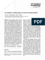 The influence of initial posture on the sit-to-stand movement
