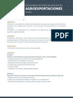 Temario Dip Agroexportacion
