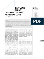 Assesment and Management of Tinnitus