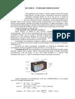 Pile Electrice- Utilizari Tehnologice 2016