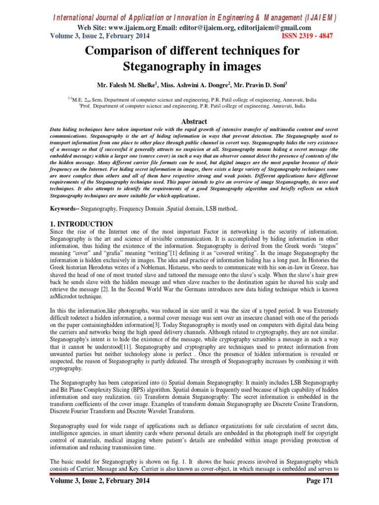IJAIEM-062 pdf | Data Compression | Cryptography