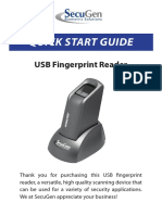 QuickStartGuide for Finger Print