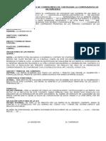 Contrato Preparatorio-compromiso de Contratar