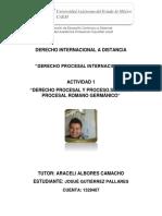Derecho Procesal y Proceso