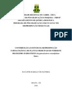 Plantas Medicinais Barbatimao Nordeste