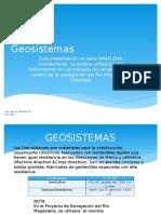 Geosistemas
