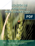 Aplicación de Plaguicidas. Nivel Cualificado_2014