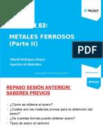 - Metales Ferrosos II