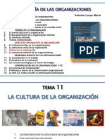 11- La Cultura en La Organización