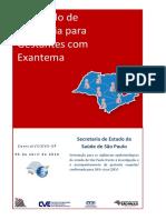 Protocolo de Vigilancia Para Gestante_Exantema - CVE 2016