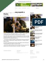 Srbin Uhapšen Zbog Napada u Parizu SAFF Portal