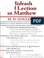 M. D. Goulder, Midrash and Lection in Matthew