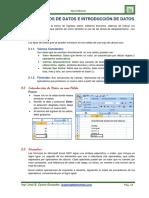 Unidad II Introduccion de Datos y Tipo de Datos