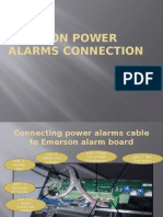 Emerson Power Alarms Connection