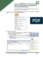 Unidad III Formato Condicional y Busqueda de Datos