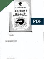 Chiaramonte, Jose C., Nacionalismo y Liberalismo Económicos