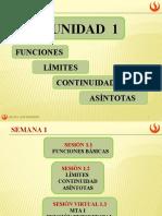 CÁLCULO 1 - Funciones Basicas