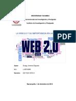 Ensayo WEB 2.0 y su importancia