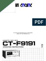 Pioneer Ct f9191