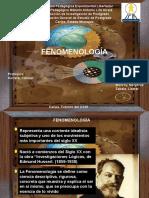 Diapositiva Fenomenologia