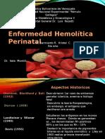 enfermedad hemolitica perinatal