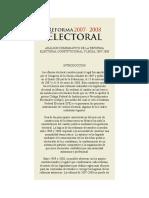 02 - Análisis Comparativo de La Reforma Electoral Constitucional y Legal 2007-2008