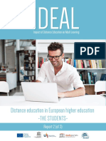 IDEAL Social Profile of Adults Enrolled in Distance Education